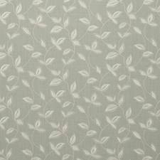 Duckegg Embroidery Decorator Fabric by Clarke & Clarke