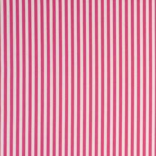 Stripe Raspberry Decorator Fabric by Clarke & Clarke