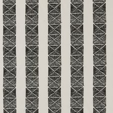 Black/White Weave Decorator Fabric by Clarke & Clarke