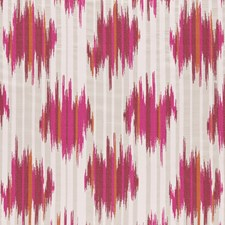 Magenta/Flamingo Weave Decorator Fabric by Clarke & Clarke