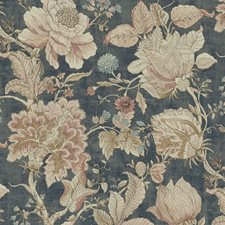 Midnight/Spice Decorator Fabric by Clarke & Clarke