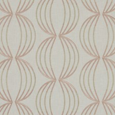 Rose Gold Weave Decorator Fabric by Clarke & Clarke