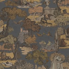 Gngr Char Animal Decorator Fabric by Cole & Son