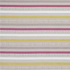 Fuchsia/Chartreuse Weave Decorator Fabric by Clarke & Clarke