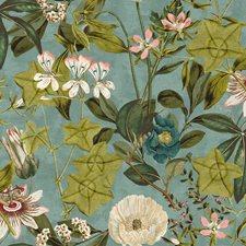 Mineral/Blush Decorator Fabric by Clarke & Clarke