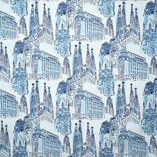 Indigo Print Decorator Fabric by Pindler