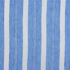 Blue Stripes Decorator Fabric by Mulberry Home