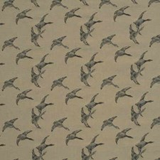 Charcoa Novelty Decorator Fabric by Mulberry Home