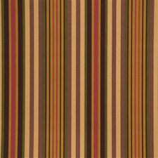 Gold/Green/Blackberry Stripes Decorator Fabric by Mulberry Home