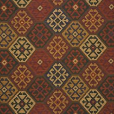 Jewel Ikat Decorator Fabric by Mulberry Home