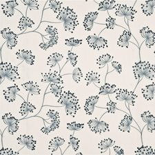 Soft Blue Decorator Fabric by Mulberry Home