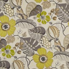 Beige Embroidery Decorator Fabric by G P & J Baker