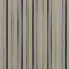 Indigo/Linen Weave Decorator Fabric by Mulberry Home