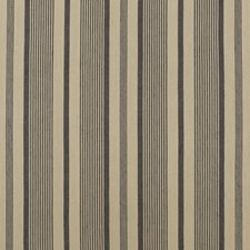 Ebony/Linen Weave Decorator Fabric by Mulberry Home