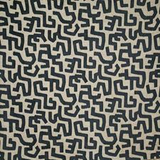 Indigo Ethnic Decorator Fabric by Pindler