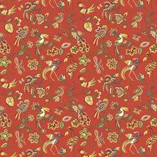Vermillion Decorator Fabric by Kasmir