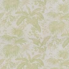 Celery Botanical Decorator Fabric by Kravet