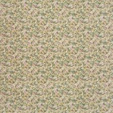 Beige/Green/Purple Botanical Decorator Fabric by Kravet