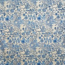 Azul Damask Decorator Fabric by Pindler