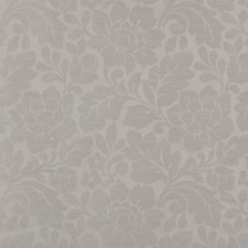 White Traditional Decorator Fabric by JF