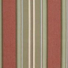 Light Green/Pink/White Stripes Decorator Fabric by Kravet