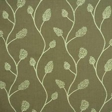 Olive/Sage Contemporary Decorator Fabric by Groundworks