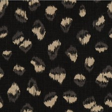 Ebony/Beige Animal Skins Decorator Fabric by Groundworks