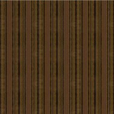 Cocoa Stripes Decorator Fabric by Groundworks