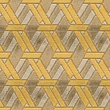 Gold/Sand Contemporary Decorator Fabric by Groundworks