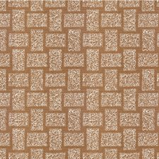 Camel Geometric Decorator Fabric by Groundworks