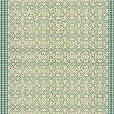 Cornflower Geometric Decorator Fabric by Groundworks