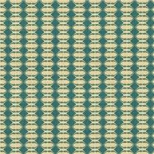 Cornflower Geometric Decorator Fabric by Groundworks
