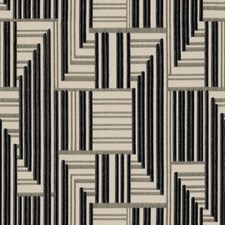 Onyx/Lead Contemporary Decorator Fabric by Groundworks
