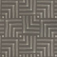 Mocha/Cream Modern Decorator Fabric by Groundworks