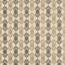 Natural Metal Contemporary Decorator Fabric by Groundworks