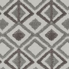 Linen/charcoal Decorator Fabric by Highland Court