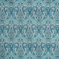 Blue/Indigo Paisley Decorator Fabric by Kravet