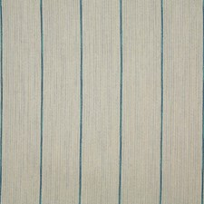 Turquoise Stripe Decorator Fabric by Pindler