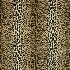 Beige/Black/Yellow Animal Skins Decorator Fabric by Kravet
