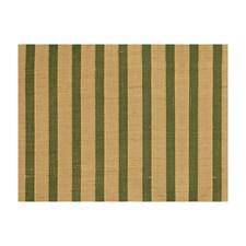 Emerald Stripes Decorator Fabric by Brunschwig & Fils