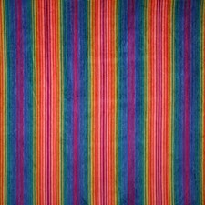 Rainbow Stripe Decorator Fabric by Pindler