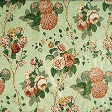 Green/Pink Decorator Fabric by Clarence House