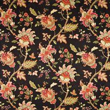 Fiesta Black Decorator Fabric by Kasmir