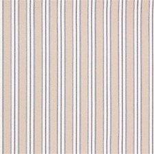 Indigo Stripes Decorator Fabric by Laura Ashley
