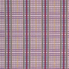 Wisteria Plaid Decorator Fabric by Laura Ashley