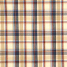 Red/Blue Check Decorator Fabric by Baker Lifestyle