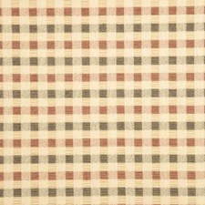 Navy/Red Check Decorator Fabric by Baker Lifestyle