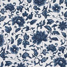 Porcelain Blue Decorator Fabric by Ralph Lauren