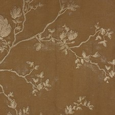 Gold/Metallic Botanical Decorator Fabric by Kravet