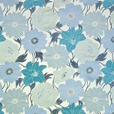 Turquoise Decorator Fabric by Kasmir